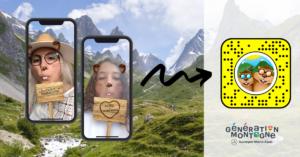Une Lens Snapchat version Été pour toucher les jeunes