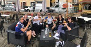 Séjour d'un groupe anglais sur ViaRhôna