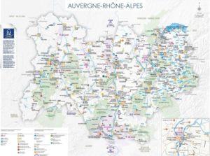 Les cartes touristiques 2020