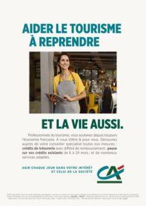 Auvergne-Rhône-Alpes Tourisme & le Crédit Agricole s'engagent ensemble pour les professionnels du tourisme