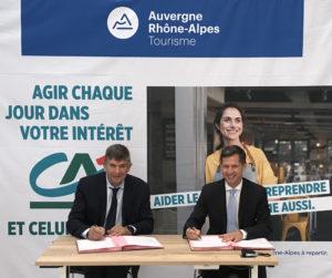 Partenariat avec le Crédit Agricole