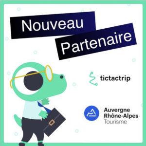 Partenariat avec Tictactrip