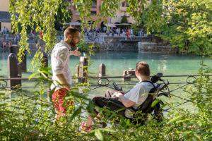 Accueil blogeurs Tourisme & Handicap