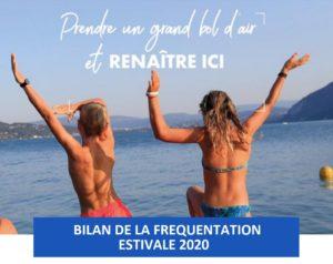 Bilan de la fréquentation estivale 2020 en Auvergne-Rhône-Alpes