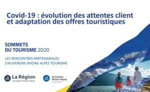 Covid-19 : Évolutions des attentes clients & adaptations des offres touristiques