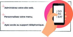 Go to Eat : une nouvelle application à destination des restaurateurs !