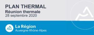 Plan Thermal Régional – 2ème volet – point d'étape