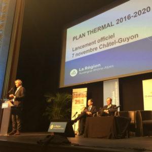 Lancement du Plan Thermal Régional 2016 – 2020