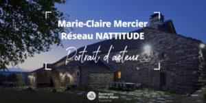 Portrait d'acteur : Marie-Claire Mercier, Esprit Nattitude