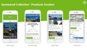 Campagne digitale vélo et outdoor – Komoot Allemagne et Suisse – Printemps 21