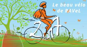 Tournage TV, émission le Beau Vélo de Ravel, sur la ViaRhôna