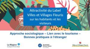 La nouvelle attractivité des Villes et Villages Fleuris