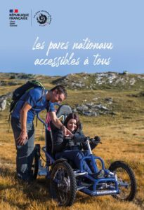 Nouveau guide des parcs nationaux accessibles 2021- Le Parc des Ecrins et de la Vanoise valorisés pour leur engagement