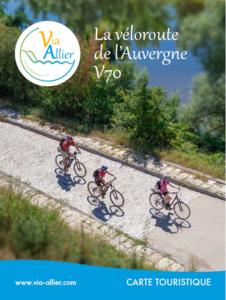 Première carte touristique Via Allier