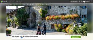 [Bilan] Campagnes de visibilité outdoor sur le site Komoot.de