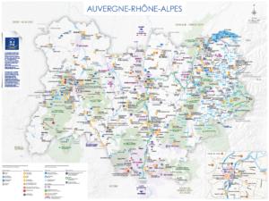 Les cartes touristiques 2021-2022