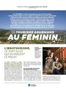 Le Tourisme Gourmand au féminin dans Détours en France