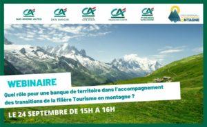 Relance, Transition : collaboration active d'Auvergne Rhône-Alpes Tourisme et du Crédit Agricole
